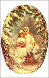 Victorian Children Christmas Card