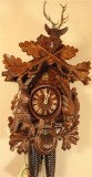 After the Hunt German Cuckoo Clock