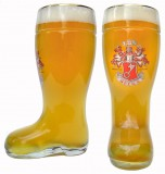 Beck's Glass Beer Boot 1 Liter