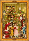 Victorian Santa German Christmas Advent Calendar