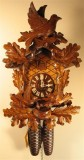 Feeding Birds and Maple Leaves German Cuckoo Clock