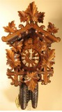 Leaves German Cuckoo Clock