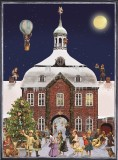 Victorian Town Hall German Christmas Advent Calendar
