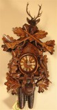 Before the Hunt German Cuckoo Clock