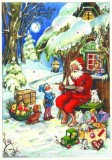Santa Christmas German Advent Calendar