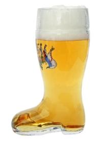 Personalized German Beer Boot Mug