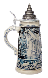 Authentic Cobalt German Stein