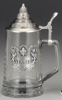 Glass Beer Stein Father's Day Gift Idea
