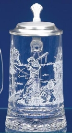 Glass Beer Stein Father's Day Gift on a Budget
