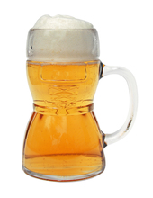 Engraved Glass Beer Stein German Gifts