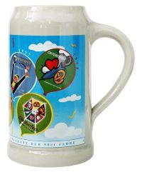 Munich Oktoberfest Ceramic Beer Mug 1 Liter