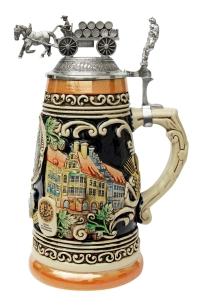 Authentic anniversary german beer stein